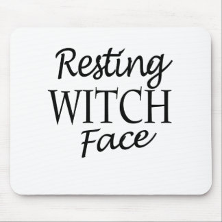witch mouse pad