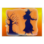 Witch Oil Greeting Card