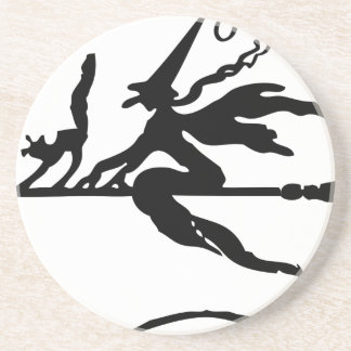 Witch On A Broom Coaster