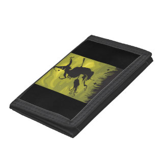 Witch On A Broomstick Wallet