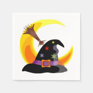 Witch Party Halloween Party Paper Napkins