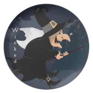 Witch Party Plate