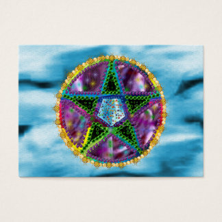 Witch Pentagram Business Card