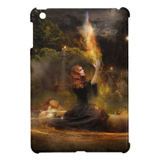 Witch Performs Magic Circle Spells iPad Mini Case