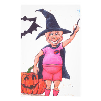 Witch Pig Stationery