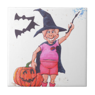Witch Pig Tile