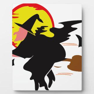 Witch Plaque