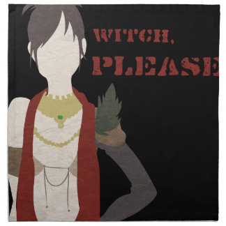 Witch, Please Napkin