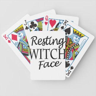 witch poker deck