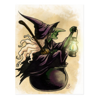 Witch Post Cards