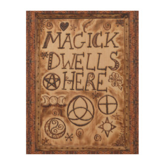 Witch Prim Triquetra, Triskele & Pentacle Sign