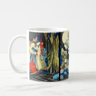 Witch Princess and Skeleton Specter 1844 Coffee Mug