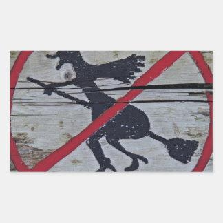 Witch-Prohibition Sticker