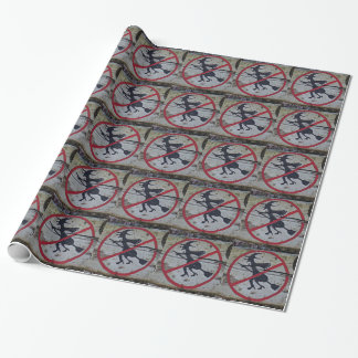 Witch-Prohibition Wrapping Paper
