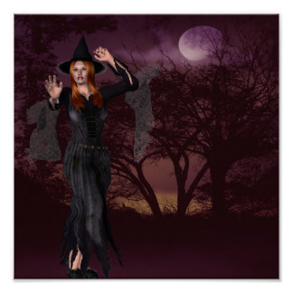 Witch Sassy Poster