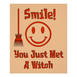 Witch Smile Poster
