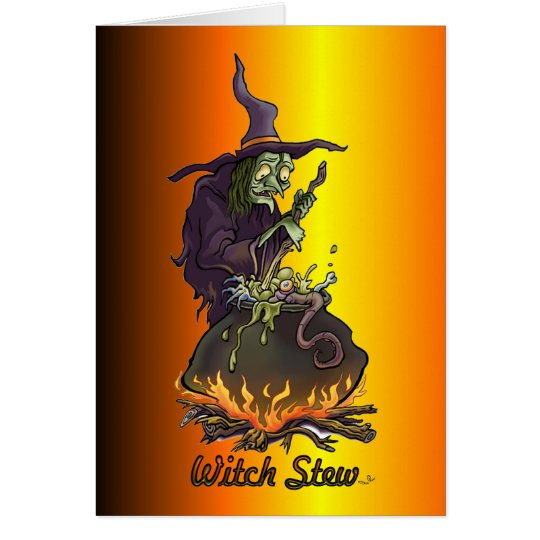 Witch Stew Greeting Card