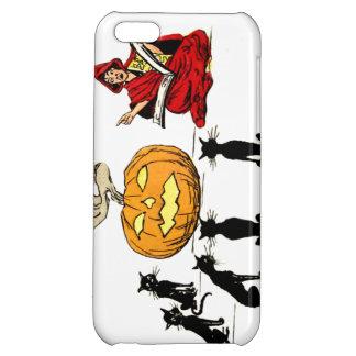 Witch Teaching Black Cat Jack O' Lantern Case For iPhone 5C