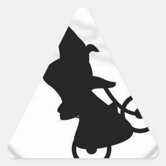 Witch Triangle Sticker
