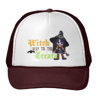 Witch Way To The Treats Trucker Hat
