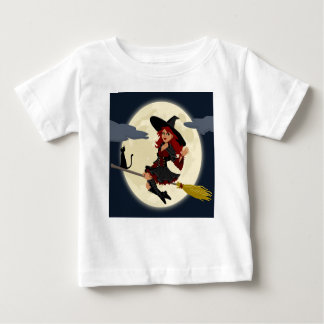 witch witchcraft broomstick broom baby T-Shirt