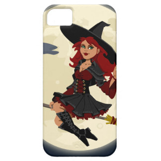 witch witchcraft broomstick broom case for the iPhone 5