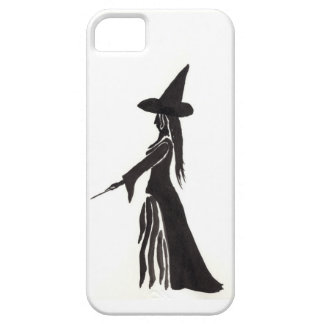 Witch With a Magic Wand Case For The iPhone 5