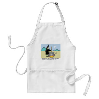 Witch With A Recipe Book Standard Apron