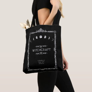 Witchcraft A Handbook of Magic Spells and Potions Tote Bag
