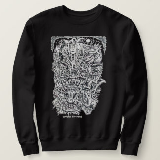 Witches and Devils, by Brian Benson. Sweatshirt