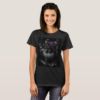 Witches Black Kitten T-Shirt