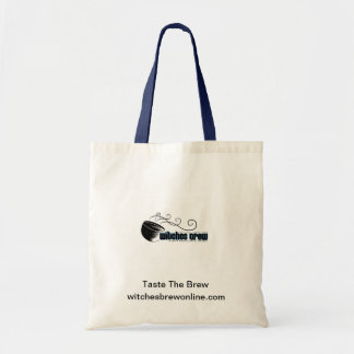 Witches' Brew Logo Canvas Tote Bag