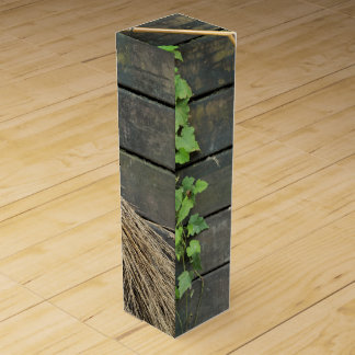 Witches broom wine bottle box
