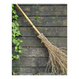 Witches broomstick custom flyer