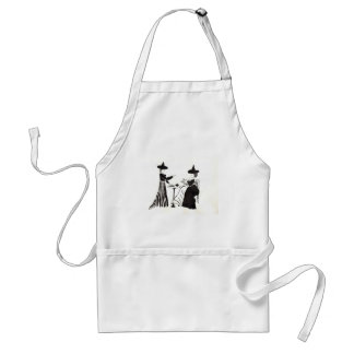Witches Catching Up Standard Apron