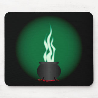 Witches Cauldron Poster Background Mouse Pad