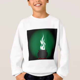 Witches Cauldron Poster Background Sweatshirt
