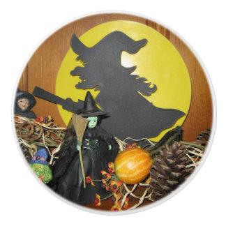 Witches Ceramic Knob