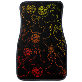 Witches Coven Car Carpet