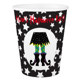Witches Feet Halloween Party Paper Cup