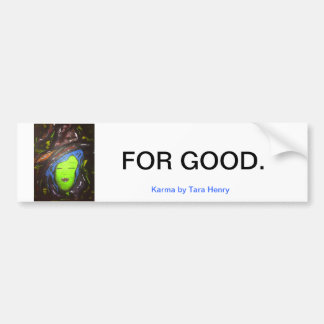 Witches for Good featuring Karma Bumper Sticker