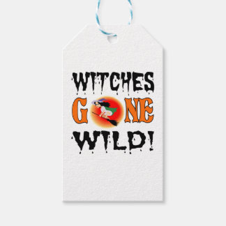 Witches Gone Wild Pack Of Gift Tags
