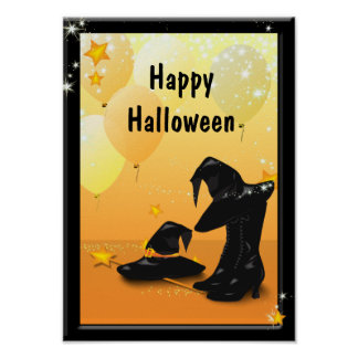 Witches Halloween Enchanting Witch Party Poster