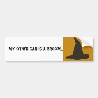 Witches Hat Halloween Samhain Bumper Sticker