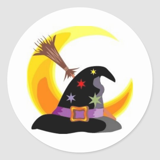 Witches Hat Sticker