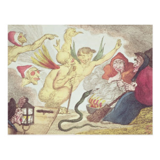 Witches in a Hayloft Postcard