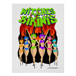 Witches in Bikinis Poster!