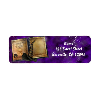 Witches Magic Spell Book Halloween Party