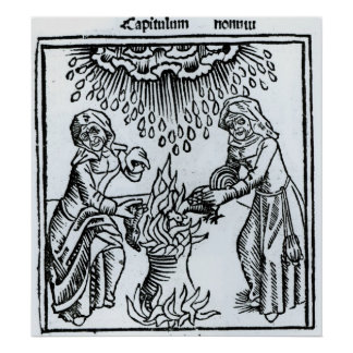 Witches Making a Spell, 1489 Posters