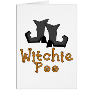 Witchie Poo T-shirts and Gifts Card